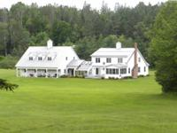 Beautiful farmhouse reproduction on 116 acres built in