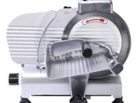 "This Is Our Brand New 8"" Semi-Auto Meat Slicer Which Is"