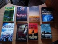I have 8 books of different detective stories for 10$.