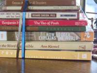 8 Books for $5.00 All in one bundle; in good