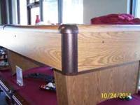 I have an 8' Addison pool table by C.L. Bailey. The