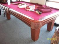 I have an 8' slate pool table by C.L. Bailey. The