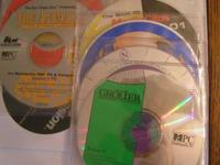 We have 8 computer CD's, which are informational and
