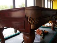 I have an Oak C.L. Bailey pool table for sale. The