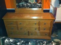 I have an 8 drawer dresser for sale with a vanity type