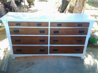 8 Drawer (project) Dresser. I paid 35 for it, don't