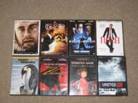 For sale I have 8 DVD movies. They are $3 each, or take