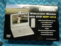 Available: Mintek 8 TFT Widescreen Portable DVD