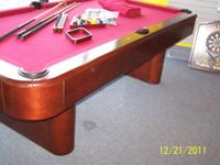 I have an 8' Fischer Patriarch pool table for sale. The