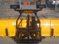 This is a eight foot Fisher Minute Mount 2 snow plow.