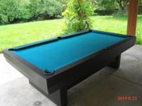 Gorgeous Outdoor Aluminum, water proof Pool Table - 8