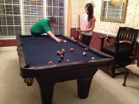 A great addition to any home, this Pool table comes in