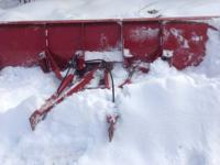 For sale is an 8 Foot Fisher Plow and Rams It is in