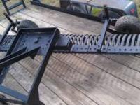 8 foot York rake with gauge. in good condition $450.00
