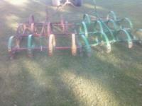 8 ft harrow works good asking 250 OBO call  Thanks //