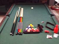 8 ft Slate Pool Table with all the devices! When we had