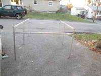 For sale is an 8 ft contractors truck rack.