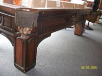 I have an 8' Golden West 3 piece slate pool table for