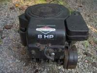 "This is an electric start, 8 HP, 319 CC, ""Briggs &"