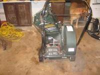 Hardley used chipper and vacuum. Just in time for fall