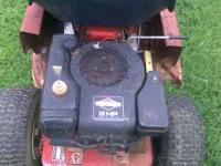 8 HP BRIGGS & STRATTON ENGINE FROM MURRAY RIDING MOWER - (LINCOLNTON