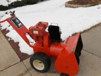 Gilson snowblower classifieds buy sell gilson snowblower across gilson 8 hp 26 inch snowblower 3 spd with reverse new ccuart Images
