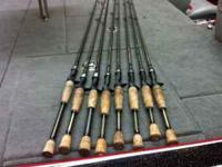 I have the following rods for sale. All Kistler
