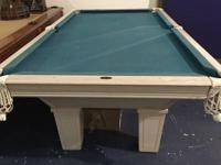 8' Leisure Bay Pool Table Pool Table Description: 8'