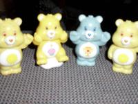 HEY EVERYONE I HAVE THESE 8 CARE BEAR FIGURES. THESE