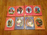 8 Little House on the Prairie Chapter Books.  Good