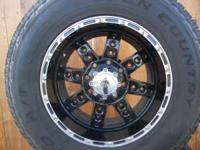 "18"" 8 LUG DEVINO WHEELS AND TOYO TIRES FOR SALE WHEELS"