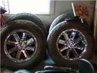8 lug 20 inch incubus off road rims with 325 60R 20