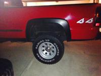 I have a set of 4 tires and rims 8 lug oversized I keep