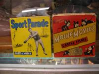 JUST ARRIVED TWO 8 MM REELS OF MOUSE MOVIES AND SPORTS
