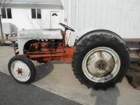 Ford 8-N converted to 12 vt.,new
