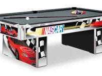 8' Nascar Pool Table made by Olhausen Billiards (100%