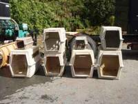 For sale are 8 Pet Crates of Varying Sizes. Some of