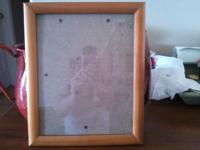 *** I HAVE 8 WOOD PICTURE FRAMES ALL ARE A SIZE 8X10