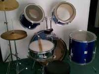 I am selling this drum set just don't have any use for