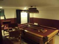 3 piece slate pool table no dings or dents or scratches