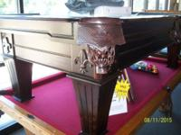 I have an 8' Solid Tropical Conifer pool table from