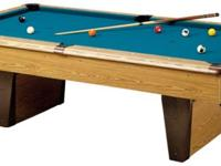 8' REGULATION SLATE POOL TABLE CHEEEAP! MUST SELL! No