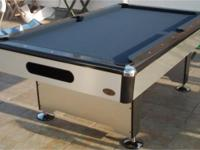 8' Silver Knight Pool Table for SALE Pool Table