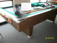 I have an 8' slate pool table by Chief Products. The