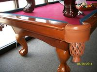 I have a Maple C.L. Bailey pool table available. The