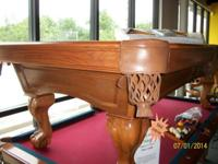 I have an Oak C.L. Bailey swimming pool table for sale.