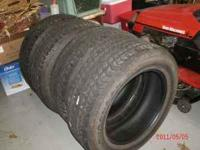 Tires are from a 1994 Chevy 1500. 6 lug bolt pattern,