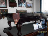 I have a strong Maple C.L. Bailey pool table for sale.