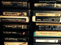 Collection of 8 Track Music Tapes all for