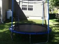 8' TRAMPOLINE BY VERIFLEX FOR SALE IN EXCELLENT